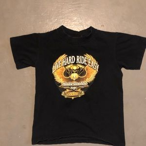 Harley Davidson cafe kids shirt size small